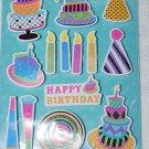 TPC Studio Birthday Party Bouncy Stickers