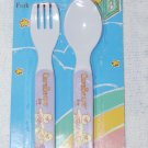 Care Bears Baby Fork & Spoon Utensils Lavender