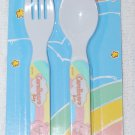 Care Bears Baby Fork & Spoon Utensils Green
