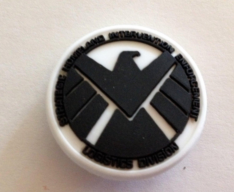 Avenger Logo Comic Book Hero Shoe Charm Party Favors