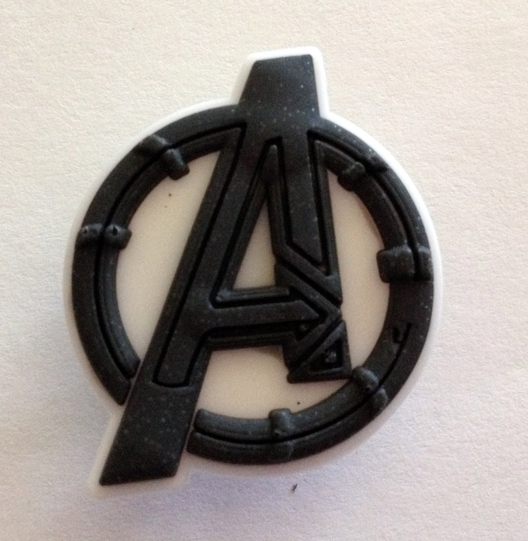 Avengers A Logo Comic Book Hero Shoe Charm Party Favors