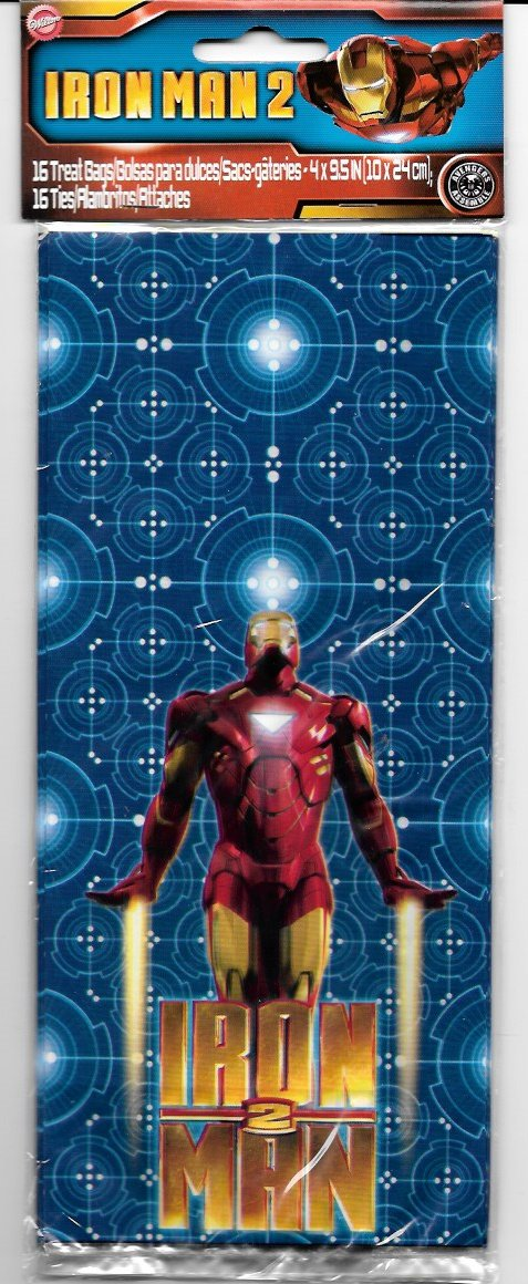 Iron Man Loot Goodie Bag Party Favor bags