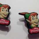 Peter Pan with Hat 2pc Shoe Charms Cake Toppers