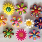 Large Flowers Shoe Charms Party Favors