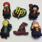 Harry Potter 6pc Shoe Charms Party Favors