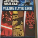 Star Wars Villains Playing and Conversation Cards NEW