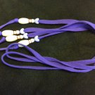 Bowling Pin Shoelaces - DARK PURPLE