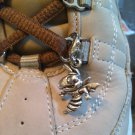 Yellow Jacket Shoe Charm