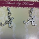 "ROLL TIDE Alabama ""A"" Dangling Post Earrings"
