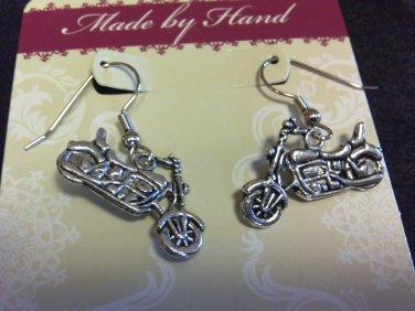 Motorcycle (fish hook) Earrings