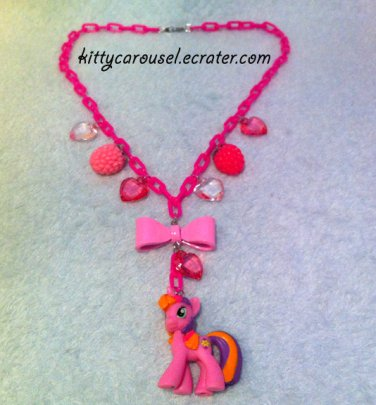 My little pony Beachberry necklace pink