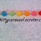 Sugary konpeito bracelet rainbow