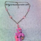 My little pony Sweetsong chain necklace lavender x pink