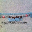 SALE Kitty Carousel Sweet icing bracelet mint x brown x pink