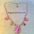 Angelic pretty present box necklace lavender