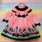 Angelic pretty fantasic dolly op / headbow set pink