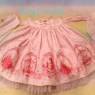 SALE Angelic pretty aqua princess skirt pink x pink