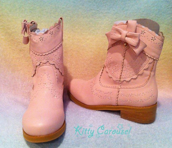 Liz Lisa cowboy boots pink