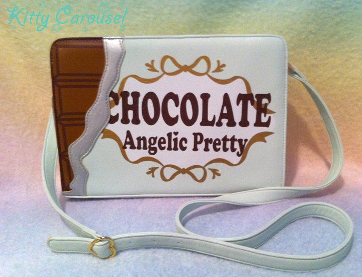 Angelic pretty melty chocolate purse mint