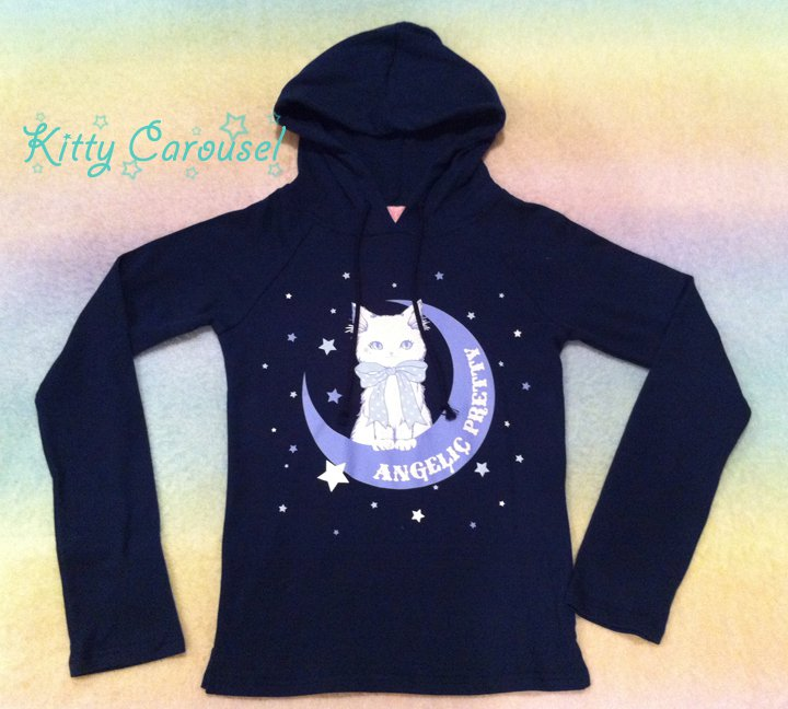 Angelic pretty trick cat cutsew navy