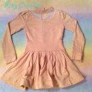 Liz Lisa long sleeved lace insert dress dusty pink