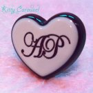 Angelic pretty melty chocolate heart ring mint