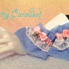 Kitty Carousel Pegasus sparkle chiffon wrist cuffs sax