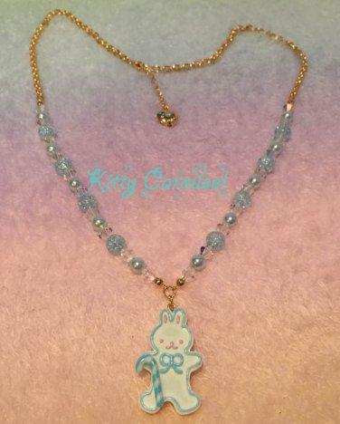 Angelic pretty dream bunny necklace white