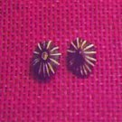 Item 017 Black or Brown Star Stud Earrings