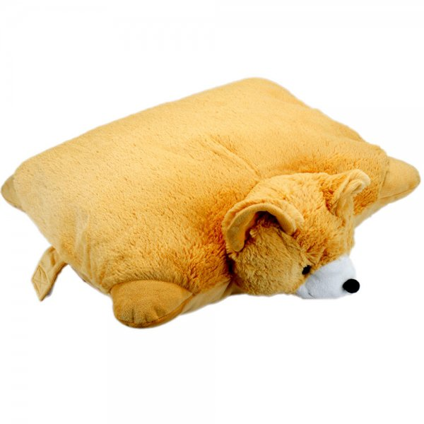 Cute Bear Doll Pillow Pet Plush Stuffed Toy