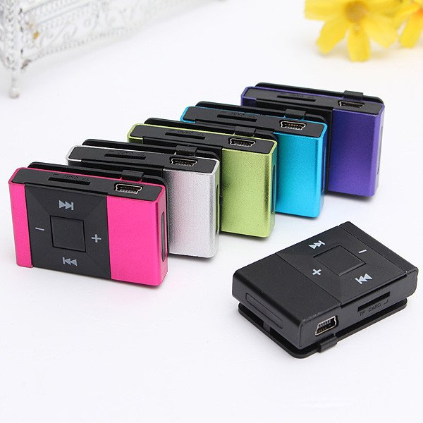 MP3 Support SD TF Clip Audio WMA USB Sport MP3 Music Media Player With Earphone