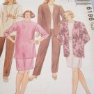NEW UNOPENED EASY MCCALLS WOMEN'S SEWING PATTERN 6196 SIZE J 44, 46, 48