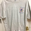 NWOT UNISEX 911 FDNY MEMORY TEE SHIRT FOR PETER A. NELSON -GILBAN ACTIVEWEAR