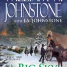 A BIG SKY CHRISTMAS BY WILIAM W JOHNSTONE & JA JOHNSTONE IN SOFT COVER FREE SHIP