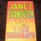 TO THE NINES A STEPHANIE PLUM NOVEL BY JANET EVANOVICH -GOOD CONDITION-FREE SHIP
