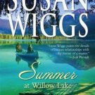 SUMMER AT WILLOW LAKE BY SUSAN WIGGS - GOOD CONDITION-SOFT COVER-FREE SHIPPING