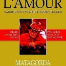 TWO BOOK IN ONE - MATAGORDA & THE FAST DRAW BY LOUIS L'AMOUR - FREE SHIPPING