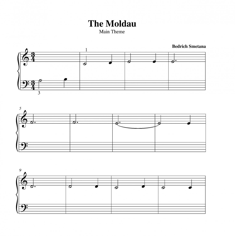 Nessun Dorma Lyrics Sheet Music: The Moldau
