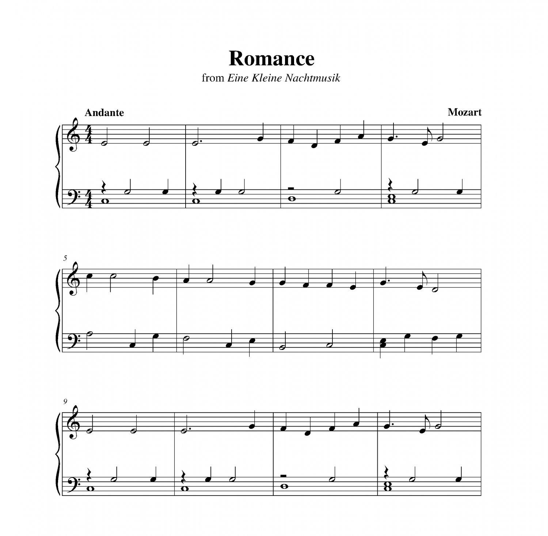 Mozart - Romance