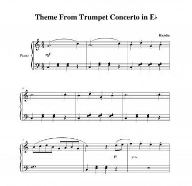 Haydn - Trumpet Concerto Theme