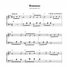 Beethoven - Romanza
