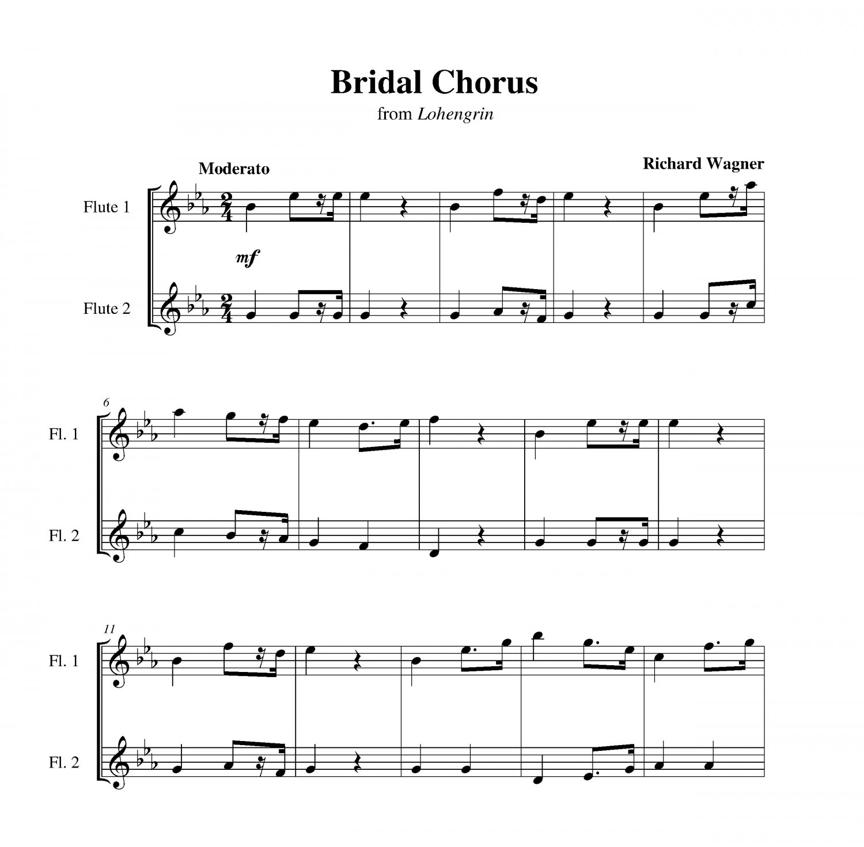 Bridal March From Lohengrin: Bridal Chorus