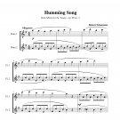 Schumann - Humming Song