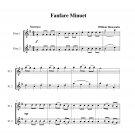 Duncombe - Fanfare Minuet