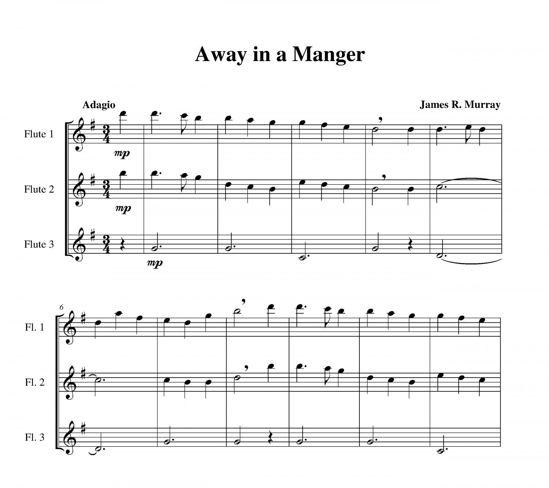 Away in a Manger (Murray)
