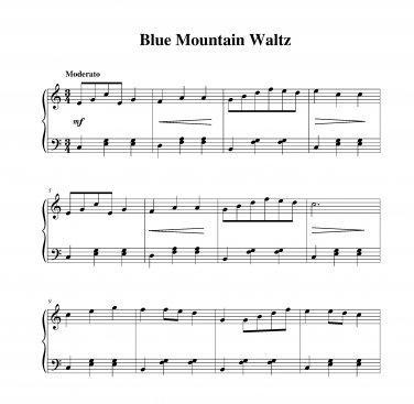 Blue Mountain Waltz