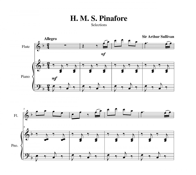 Sullivan  - H. M. S. Pinafore Selections