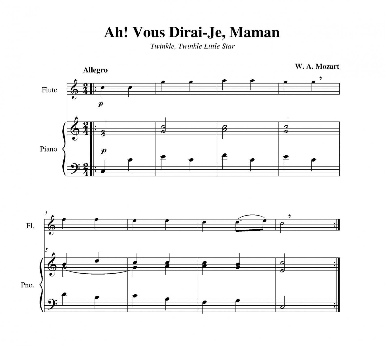 Mozart - Ah! Vous Dirai-Je, Maman