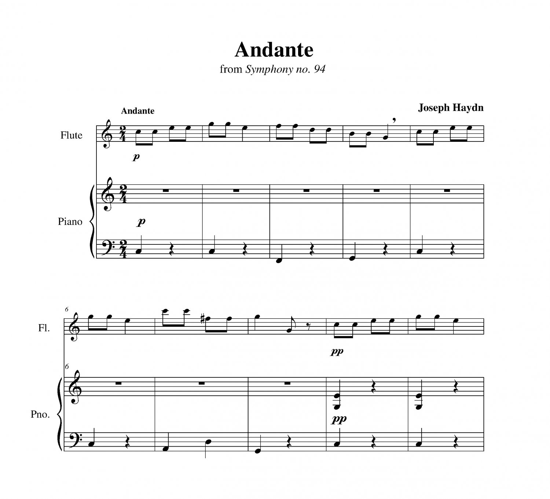 Haydn - Symphony no. 94 (Surprise) (longer version)