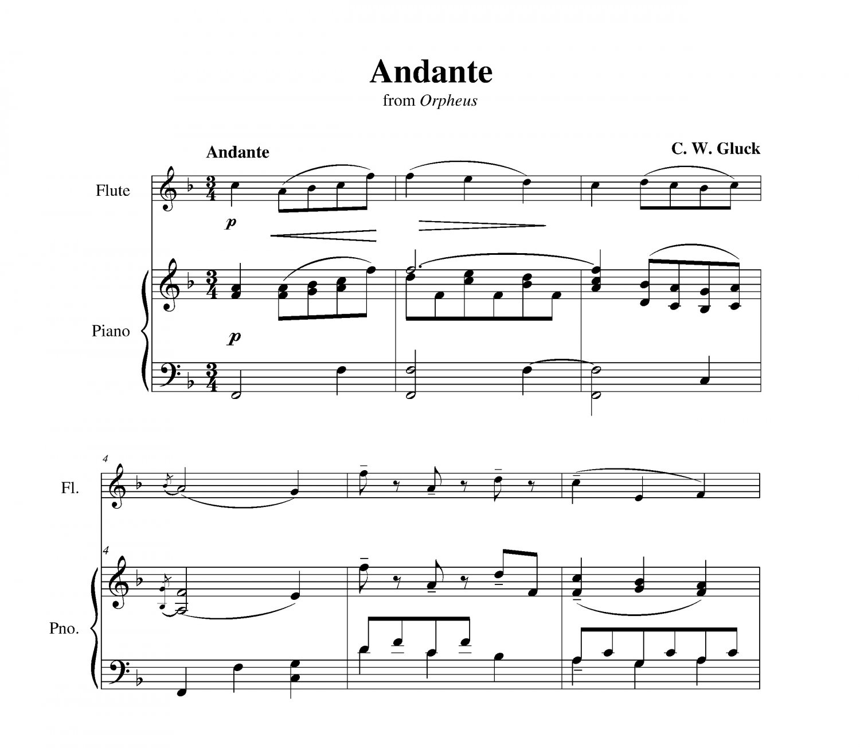 Gluck - Andante